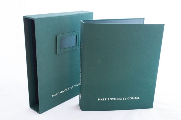 cloth over board ring binder