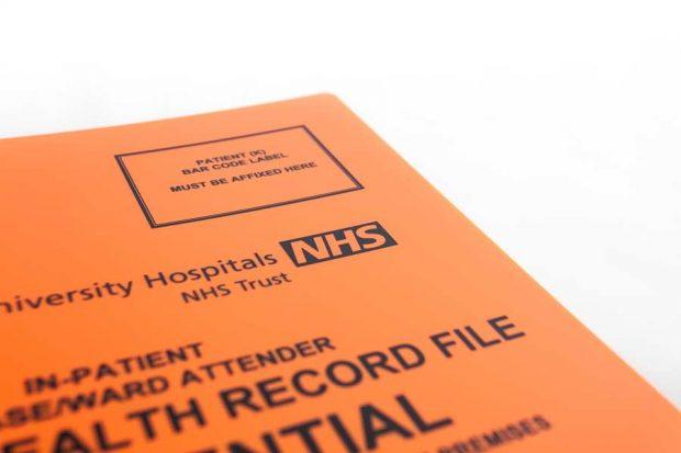 NHS medifiles