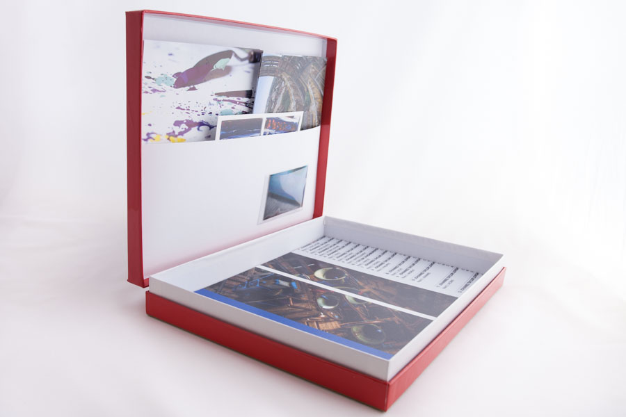 hinged box folder