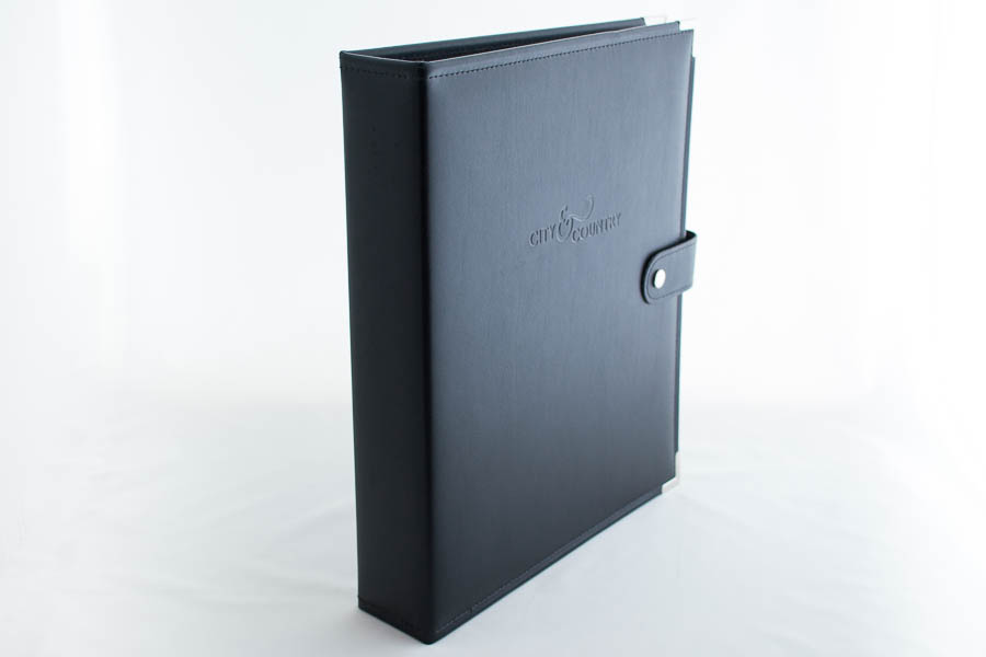PU/Leather ring binder