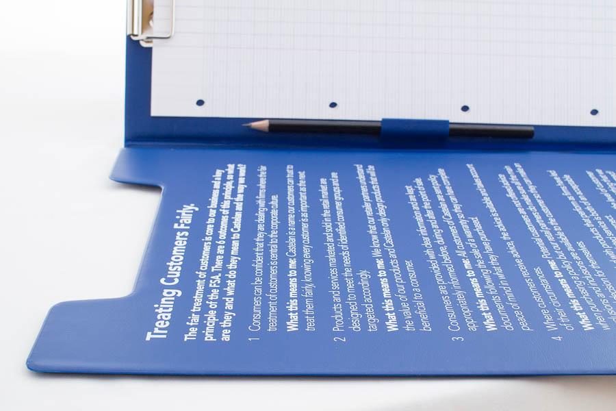 Foldover clipboard