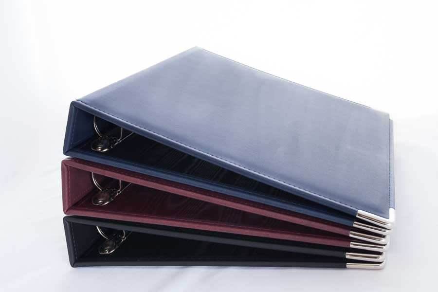 A4 PU ring binder