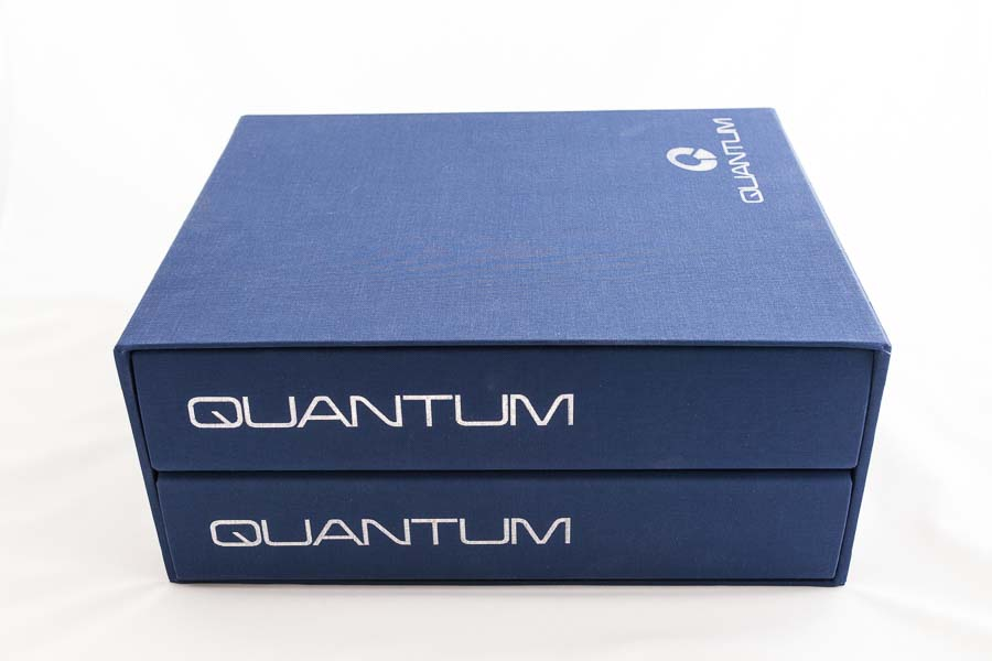 ring binders and slipcase