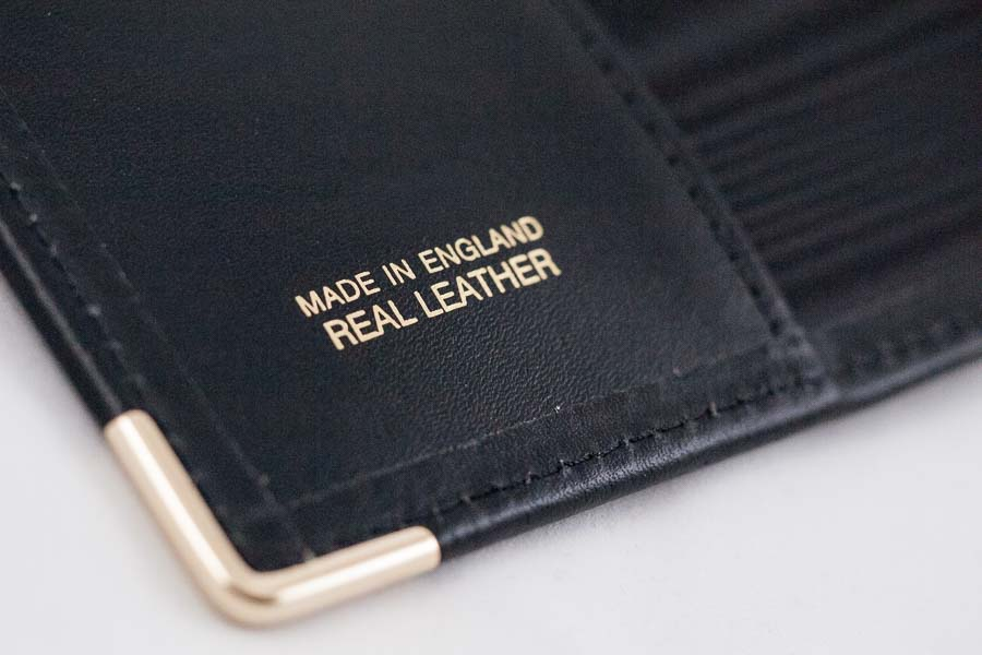 Real Leather Business Card portfolio