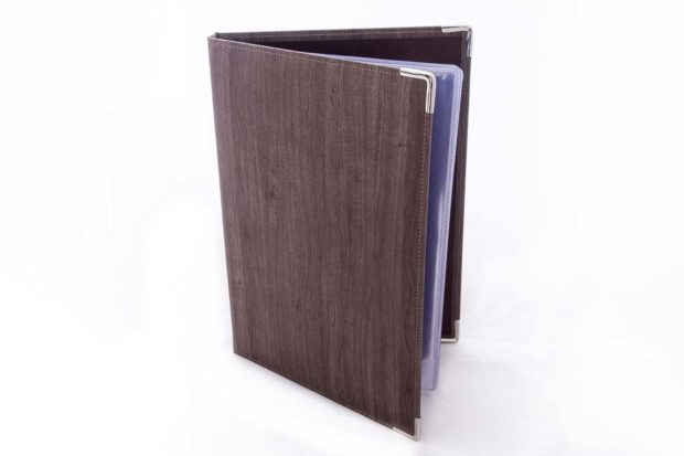 A4 PU display book