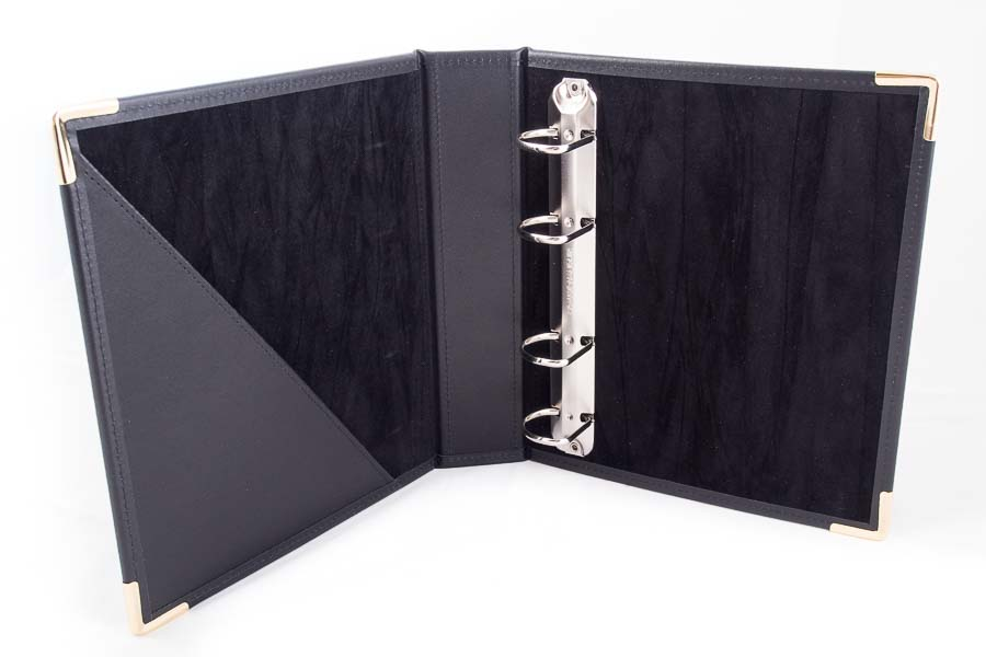 A5 Leather Ring binder