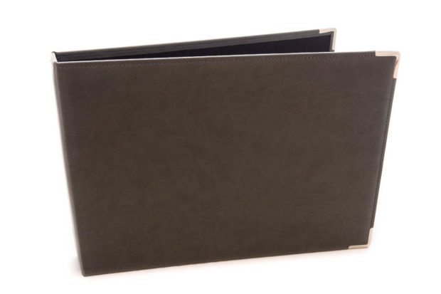 Hotel register ring binder