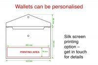 A4 popper wallets