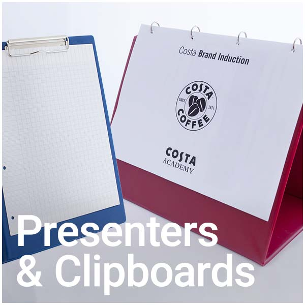presenters and clipboards